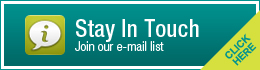 Stay In Touch - Register for our Newsletter